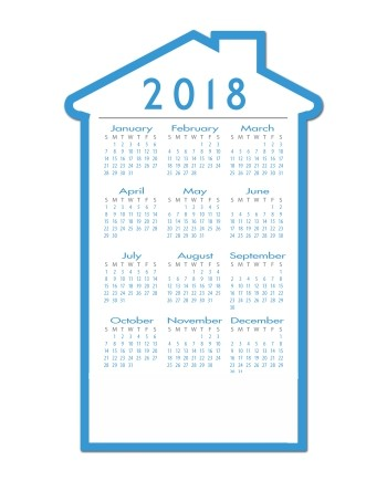 Fridge Calendars | Visible and very useful